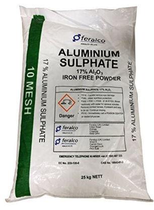 Picture of Aluminium Sulphate 17% Ground 25kg